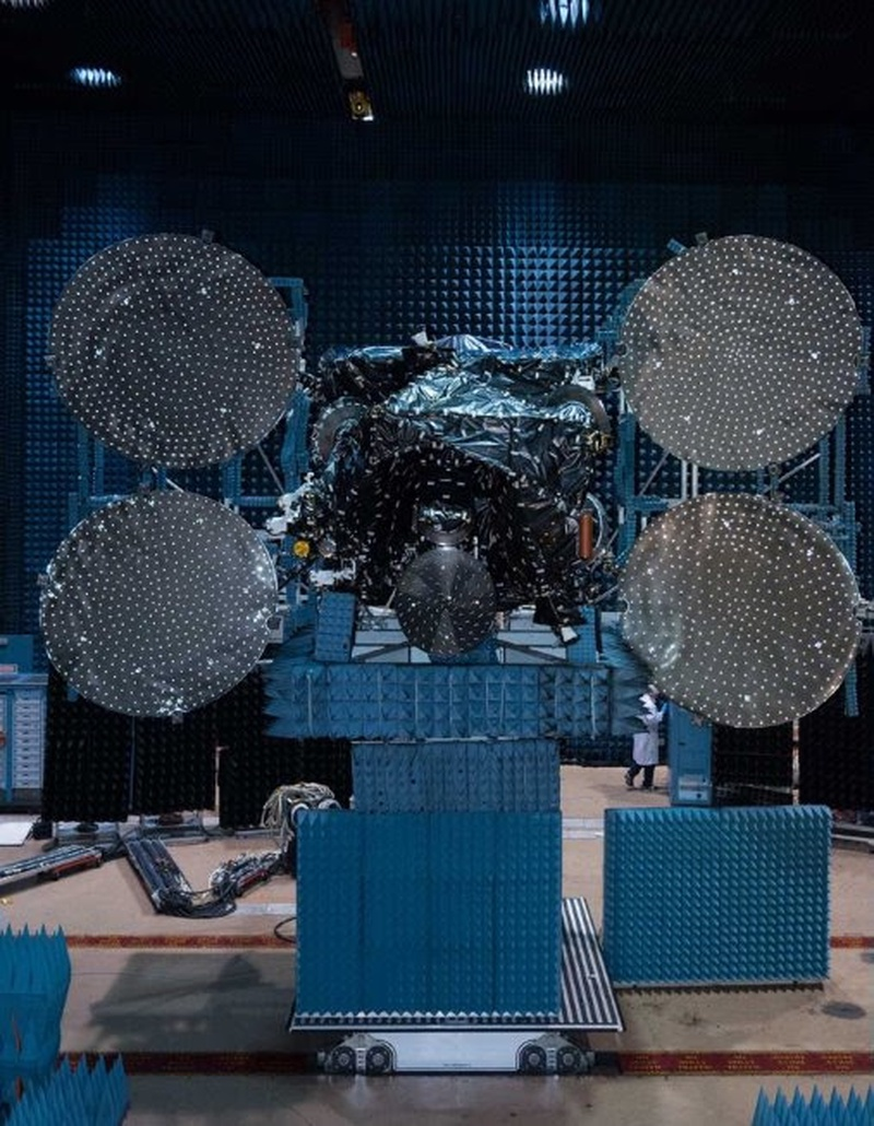Maxar's SSL Delivers Azerspace-2/Intelsat 38 to Launch Base