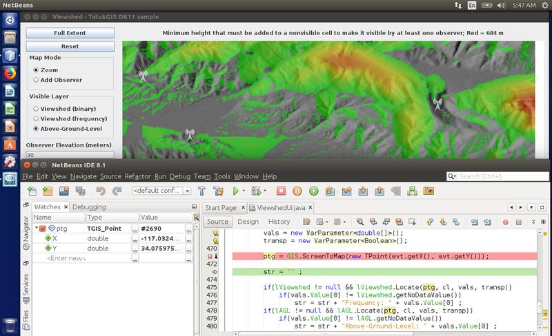 New TatukGIS SDK for Java Developers