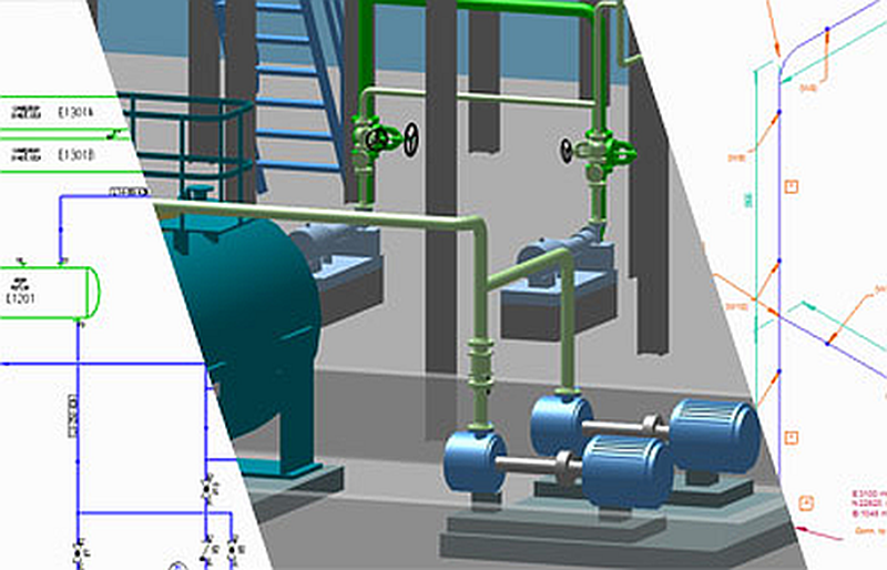 [DIAGRAM_4FR]  P&IDs, 3D Pipework and Piping Isometrics in One Integrated System | 3d Piping Diagram |  | Directions Magazine