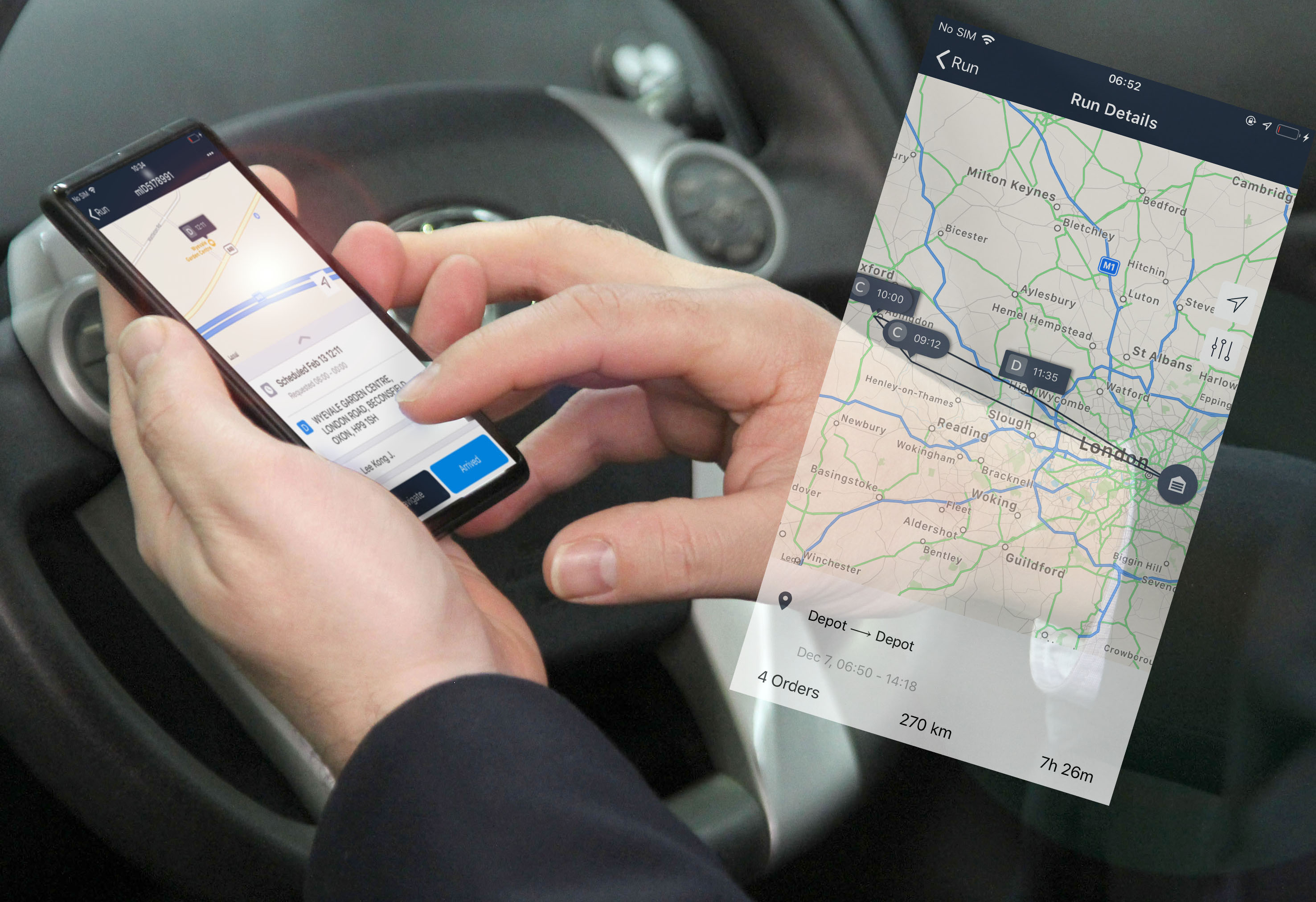 Maxoptra Launches New iOS Driver App for Real-Time Delivery