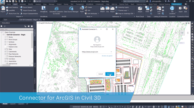 Civil 3D 2020 1 Brings BIM & GIS Integration